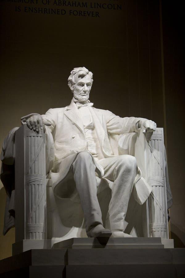 Das Lincoln-Denkmal stockfotografie