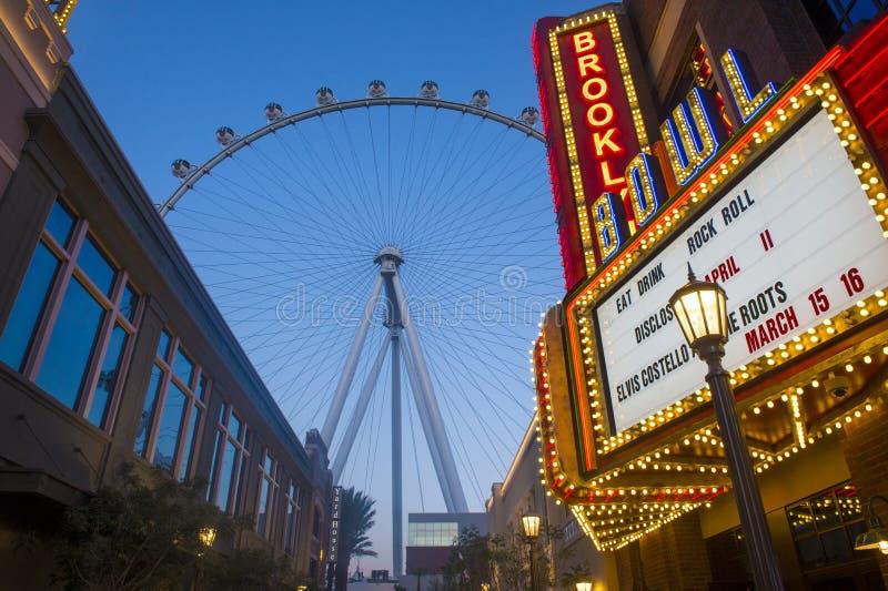 Das Linq Las Vegas lizenzfreies stockbild