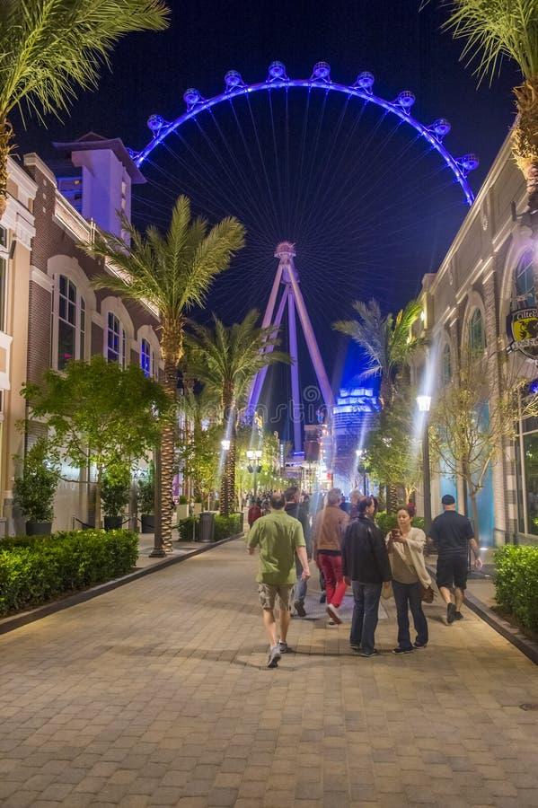 Das Linq Las Vegas lizenzfreie stockfotografie