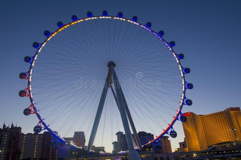 Das Linq Las Vegas lizenzfreies stockfoto