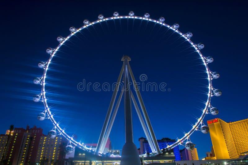 Das Linq Las Vegas lizenzfreie stockbilder