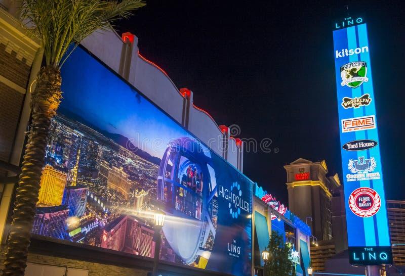 Das Linq Las Vegas stockfotografie