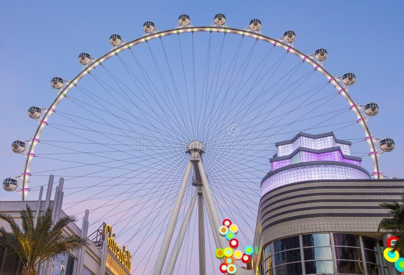 Das Linq Las Vegas lizenzfreie stockfotos