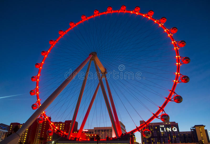 Das Linq Las Vegas stockbild