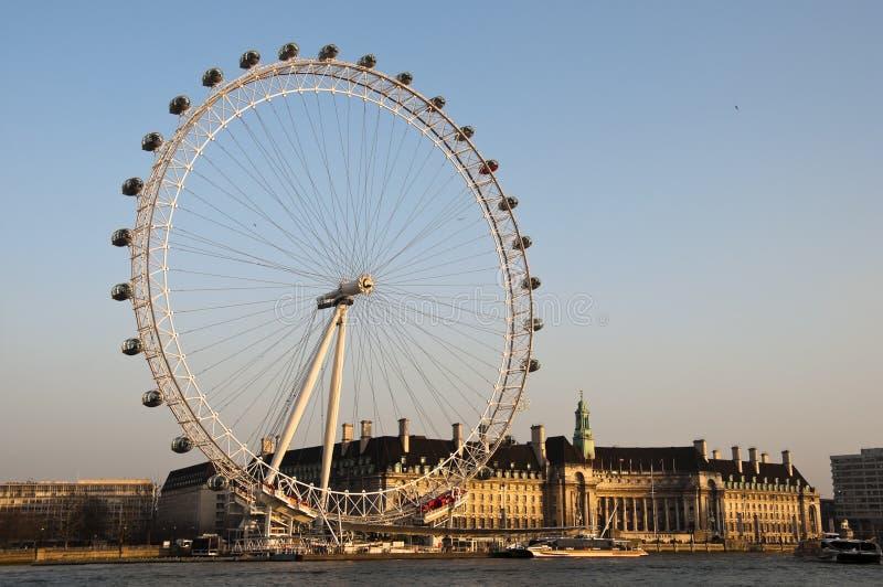 Das London-Auge stockbild