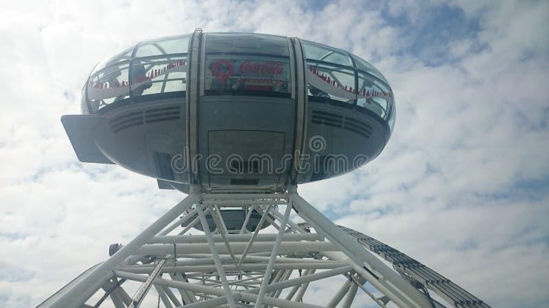 Das London-Auge stockfotografie