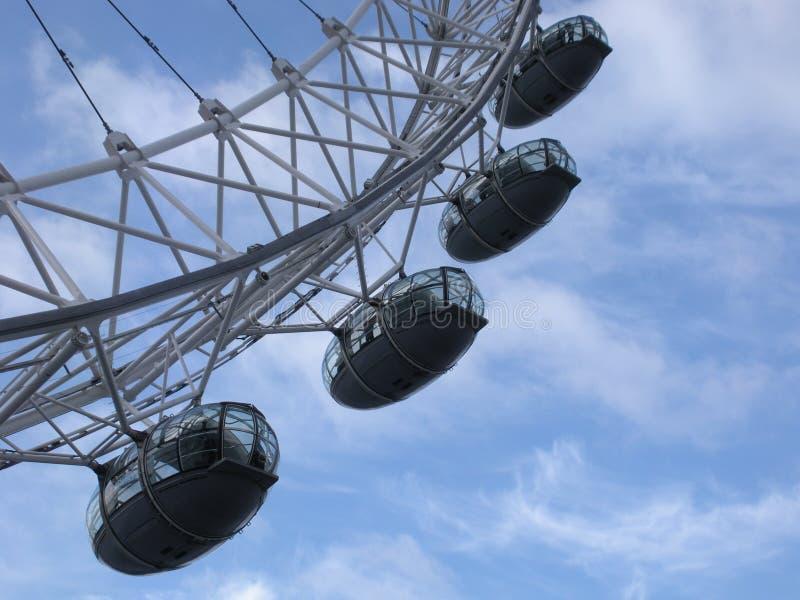 Das London-Auge, London, England, Vereinigtes Königreich stockfoto