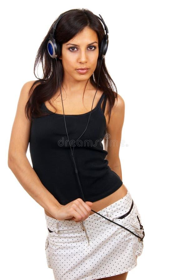 Das Mädchen stockfotos