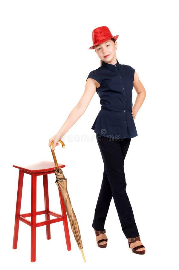 Das Mädchen der Jugendliche lizenzfreies stockfoto