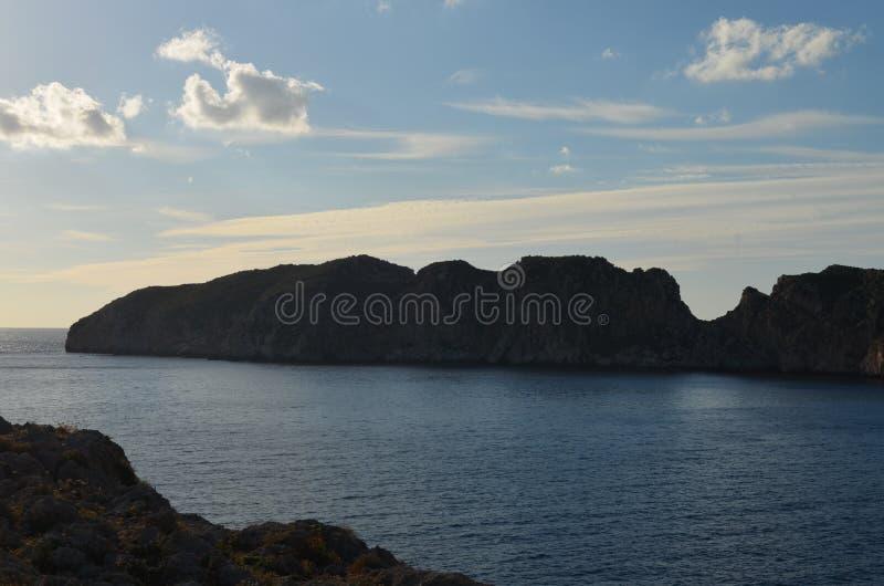Das Malgrats-slandsin das Mittelmeer lizenzfreie stockbilder