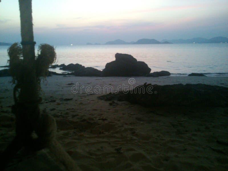 Das Meer, Abend, allein, Abendmeer lizenzfreies stockfoto