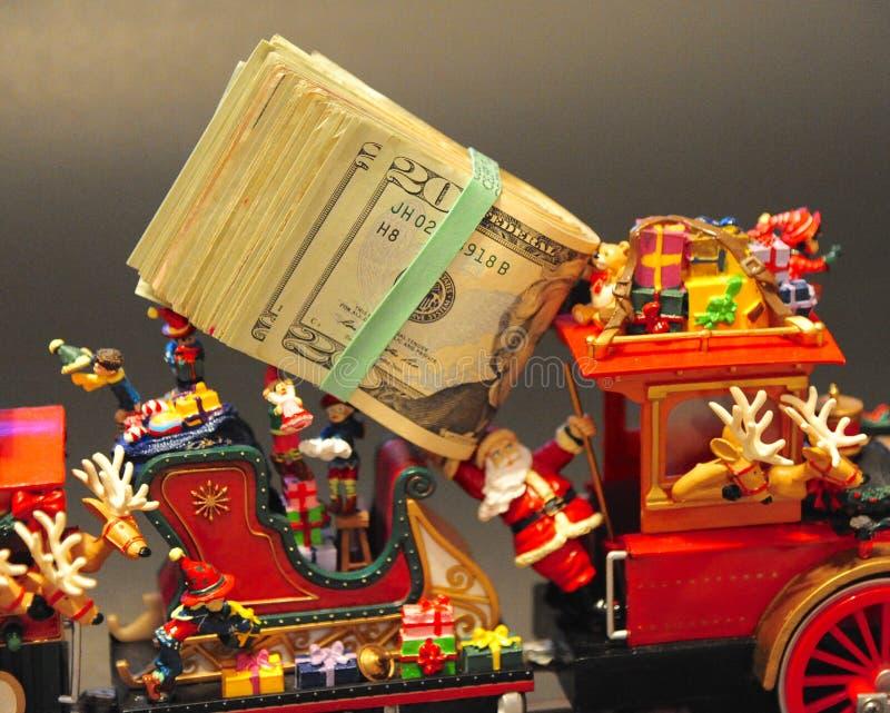 Das meiste teure Weihnachten überhaupt! stockbild