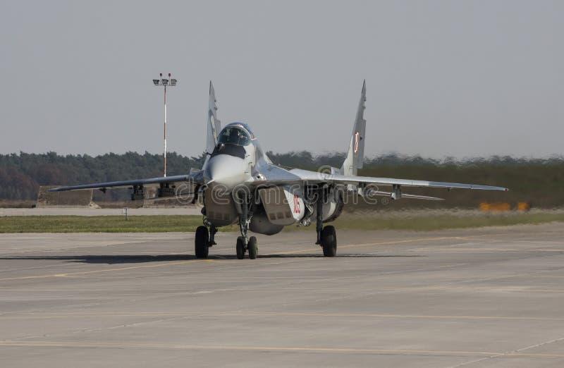 Das Mikoyan MiG-29 stockfotos