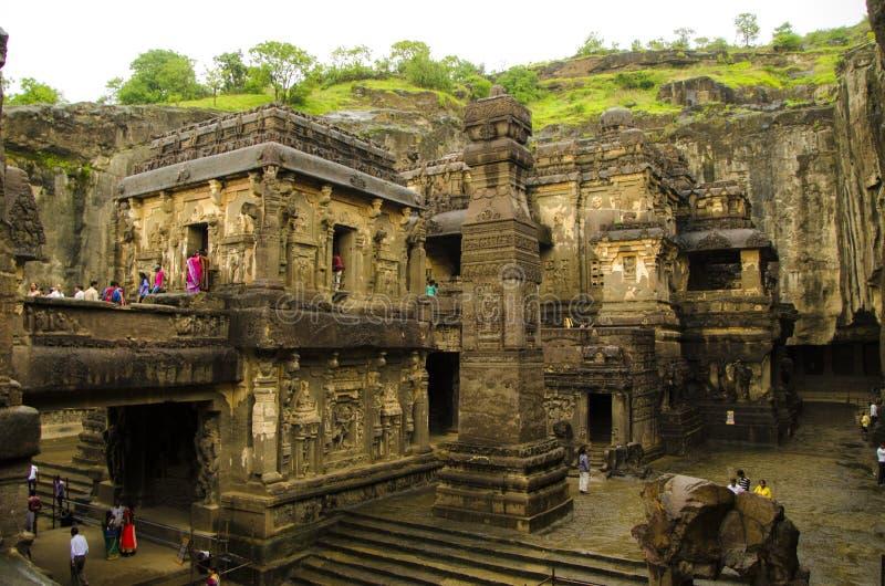 Das mit Kailash Temple stockfoto