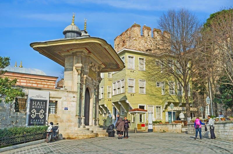 Das mittelalterliche türkische Tor stockfoto
