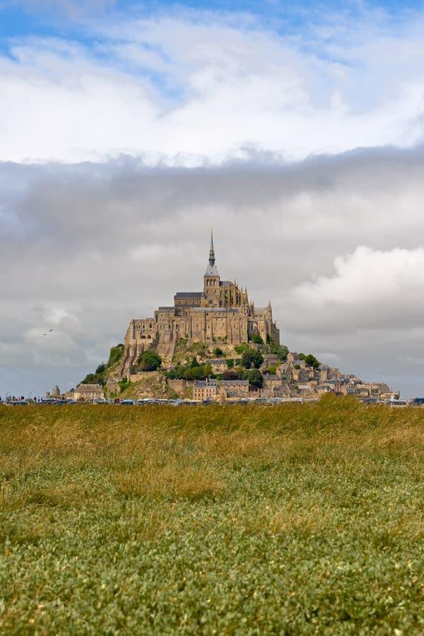 Das mont Saint-Michel, Normandie, Frankreich stockfoto