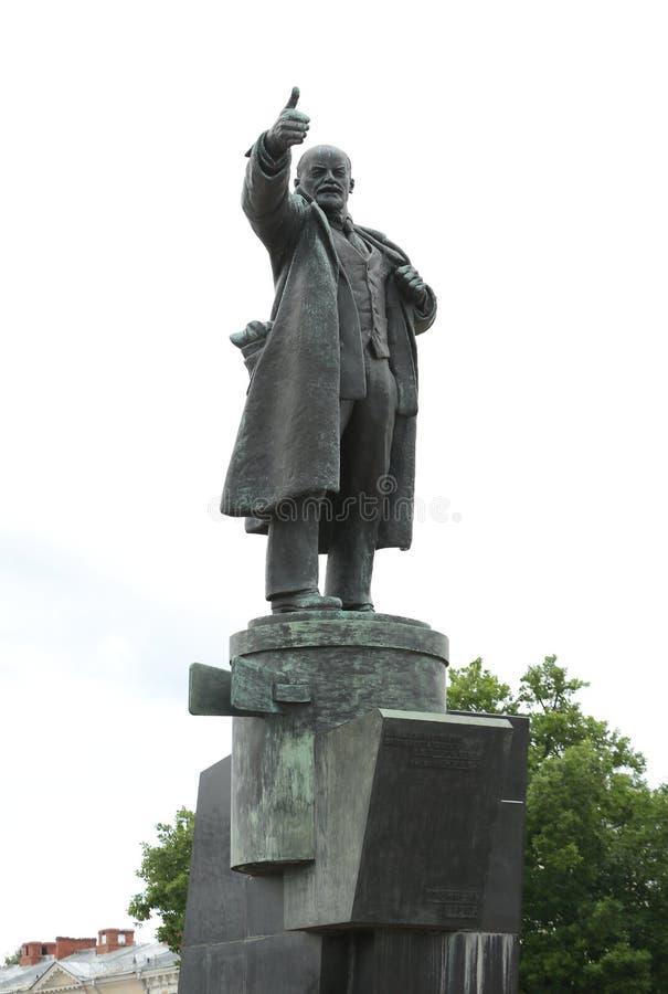 Das Monument zu Vladimir Lenin stockbild