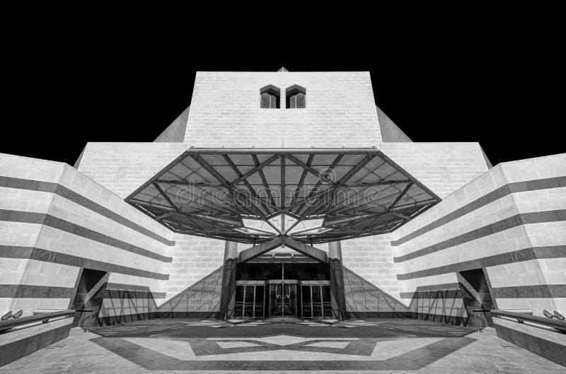 Das Museum der islamischen Kunst, Doha, Qatar stockfotografie
