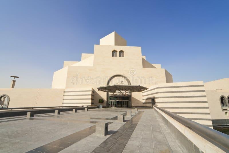 Das Museum der islamischen Kunst, Doha, Qatar lizenzfreies stockbild