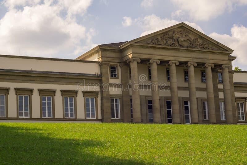 Das Museum im allgemeinen Park lizenzfreies stockbild