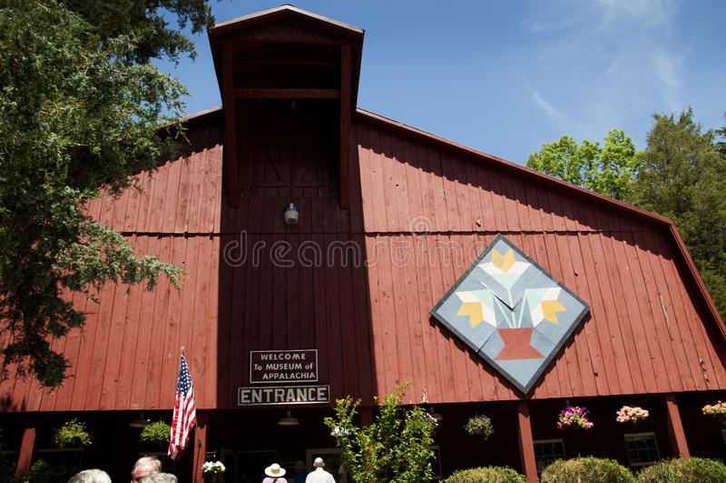 Das Museum von Appalachia, Clinton, Tennesee, USA stockbilder
