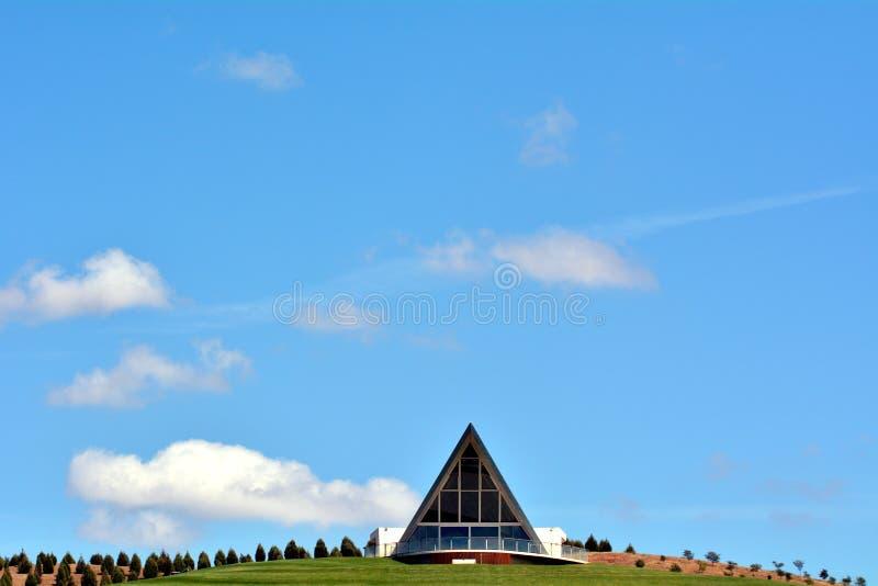 Das nationale Arboretum Canberra Australien stockbild