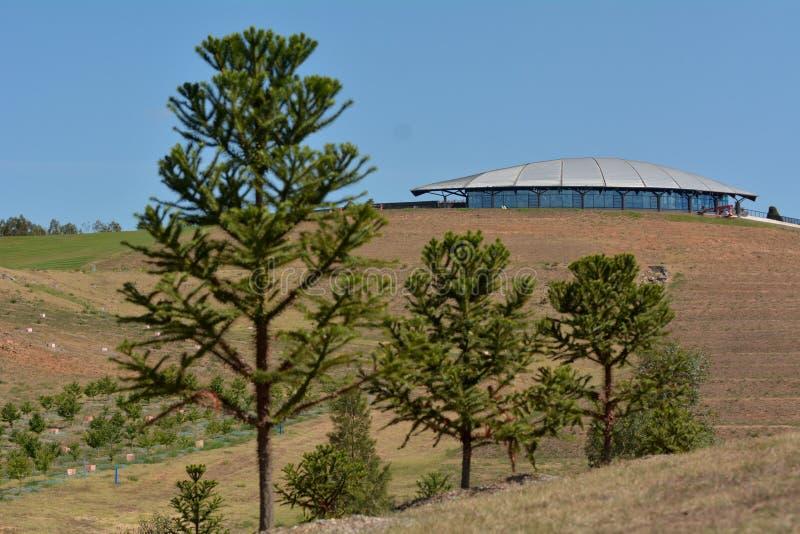 Das nationale Arboretum Canberra Australien stockfotografie
