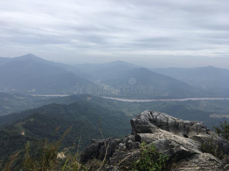 Das nationale Forest Park Doi Pha Tang stockfoto