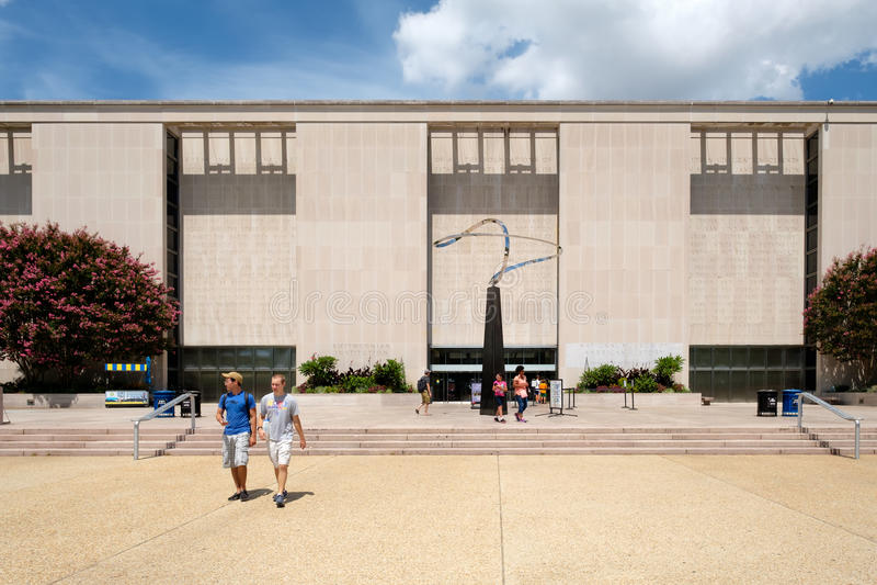 Das Nationalmuseum der amerikanischen Geschichte in Washington D C lizenzfreie stockfotografie