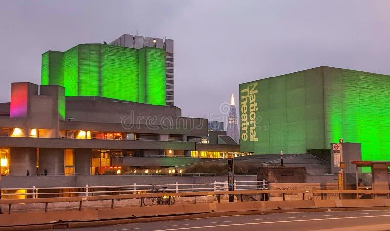 Das Nationaltheater, London, England lizenzfreies stockfoto