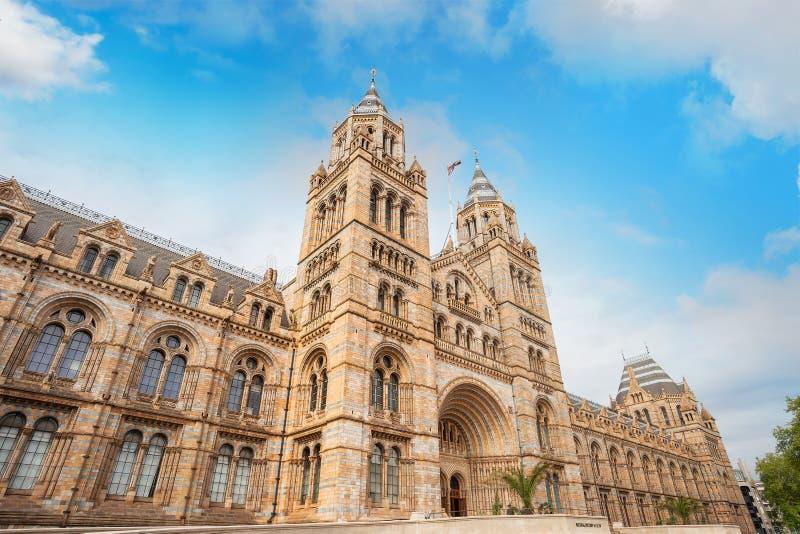 Das Naturgeschichtliches Museum in London, Großbritannien stockfotografie
