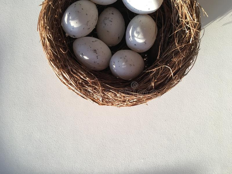 Das Nest stockfotos