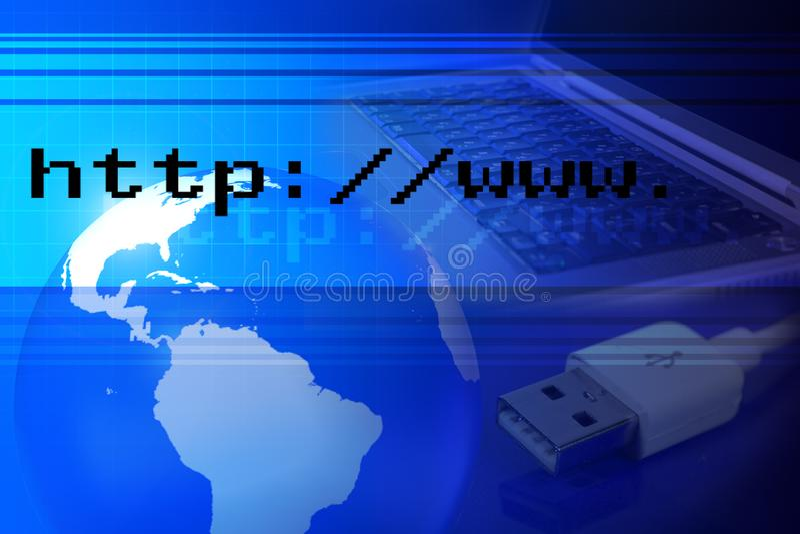 Das Netz lizenzfreies stockfoto