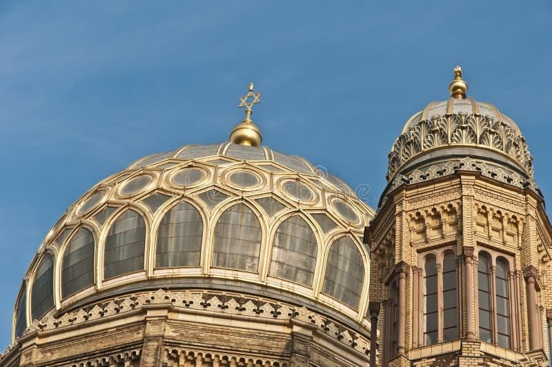 Das Neue Synagoge in Berlin, Deutschland lizenzfreies stockbild