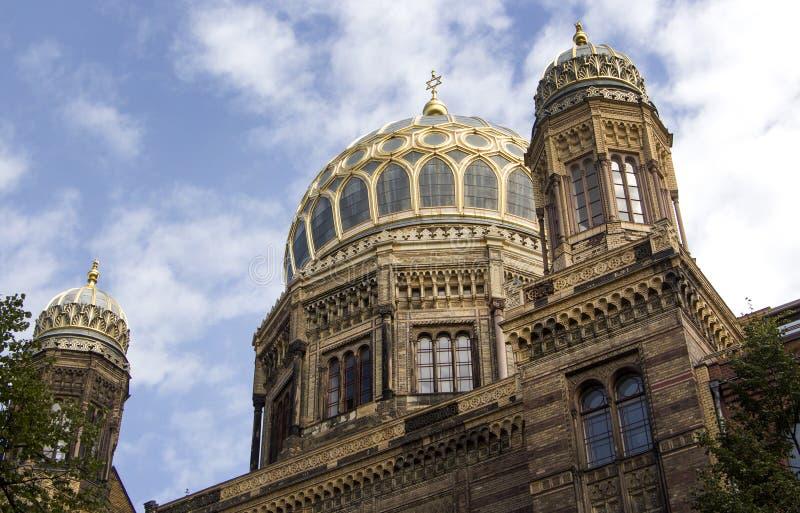 Das Neue Synagoge (neue Synagoge) stockbild