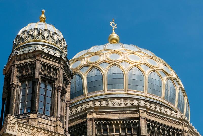 Das Neue Synagoge/neue Synagoge in Berlin, Deutschland lizenzfreie stockfotografie