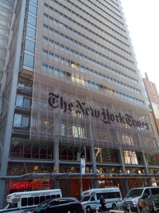 Das New York Times lizenzfreies stockfoto