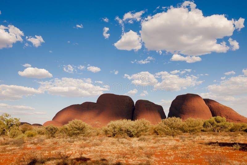Das Olgas - das Kata Tjuta - das Australien stockfotos