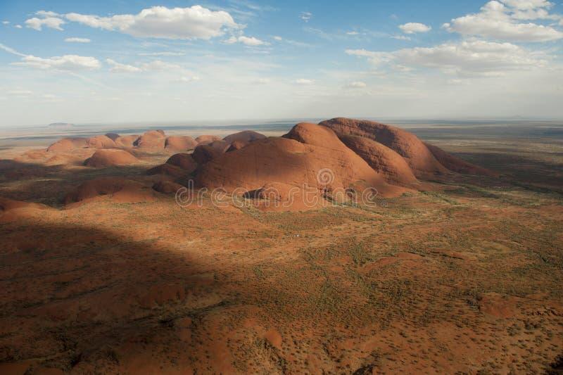 Das Olgas - das Kata Tjuta - das Australien stockbild