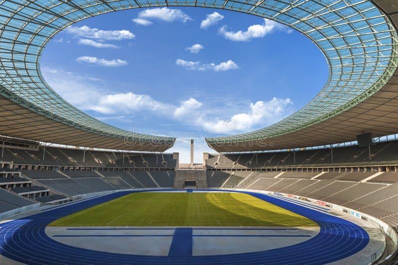 Das Olympiastadion in Berlin lizenzfreie stockfotografie