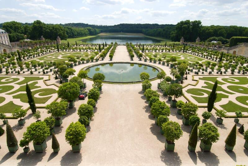 Das orangerie von Versailles lizenzfreies stockbild