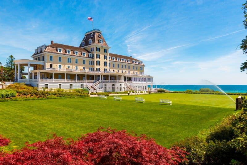 Das Ozean-Haus-Hotel in westlichem Rhode Island USA stockbilder