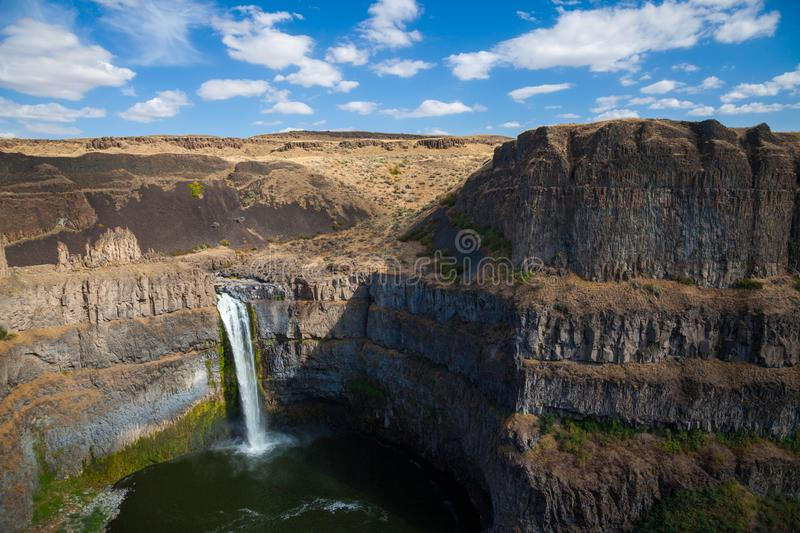 Das Palouse fällt in Ost-Washington, USA stockbild