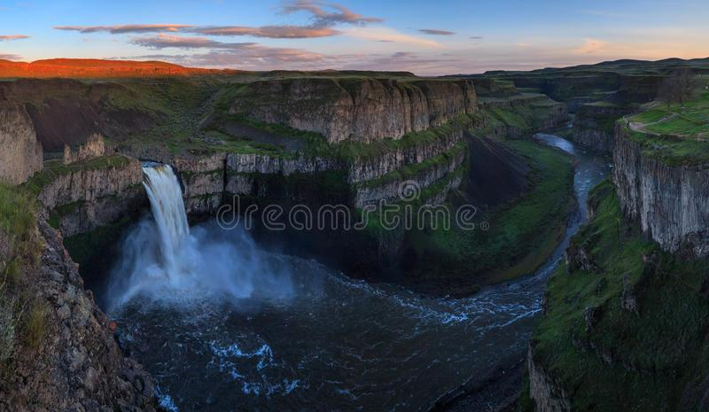 Das Palouse fällt in Washington, USA lizenzfreies stockfoto