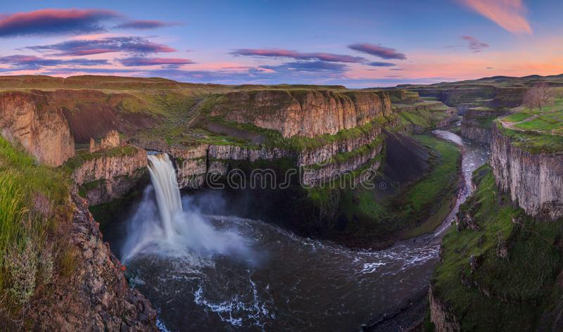 Das Palouse fällt in Washington, USA stockfotografie