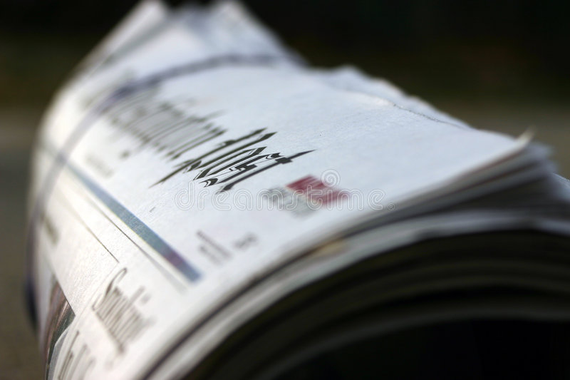 Das Papier lizenzfreie stockfotografie