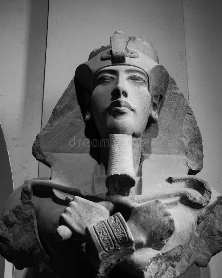 Das Pharao Akhenaten lizenzfreie stockbilder