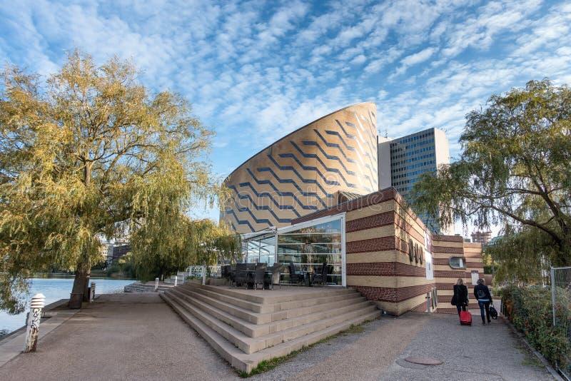 Das Planetarium in Kopenhagen stockbilder
