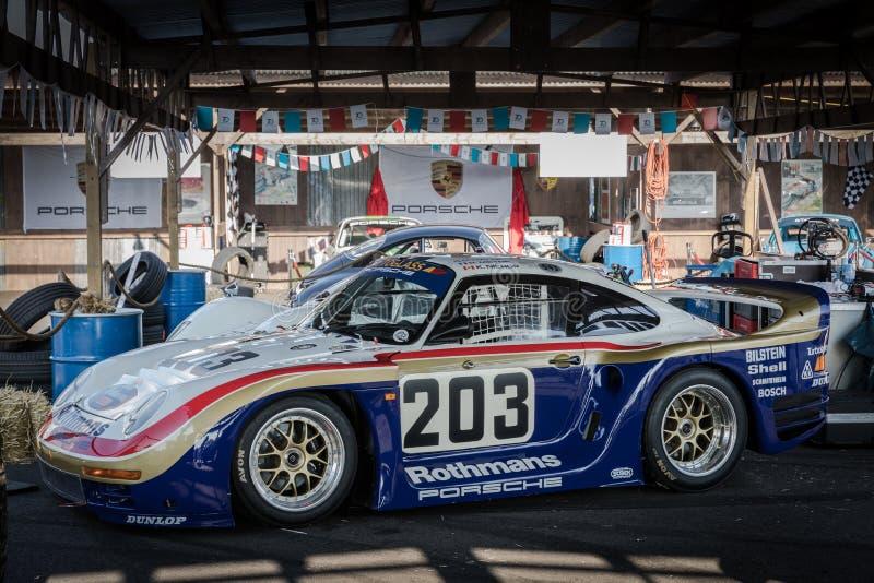 Das Porsche 961 stockbilder