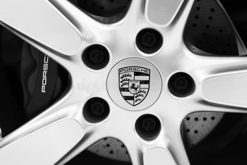 Das Porsche-Logo lizenzfreie stockbilder